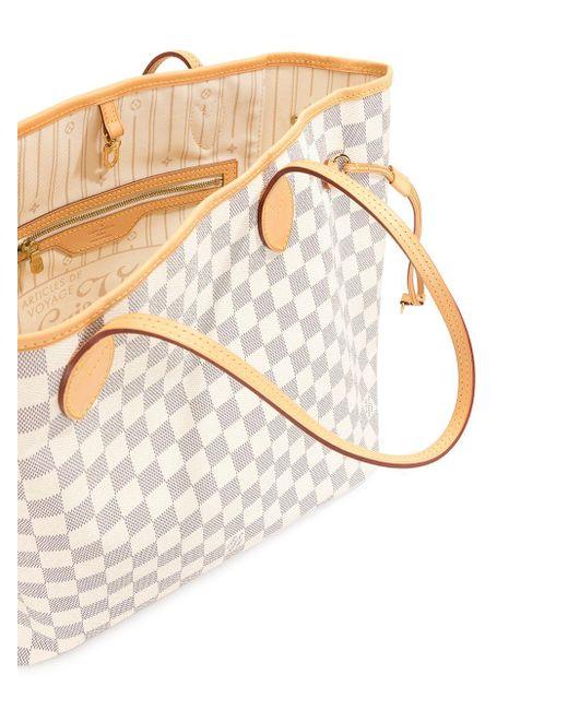 Borsa tote Neverfull MM 2010 Pre-owned di Louis Vuitton in Multicolor