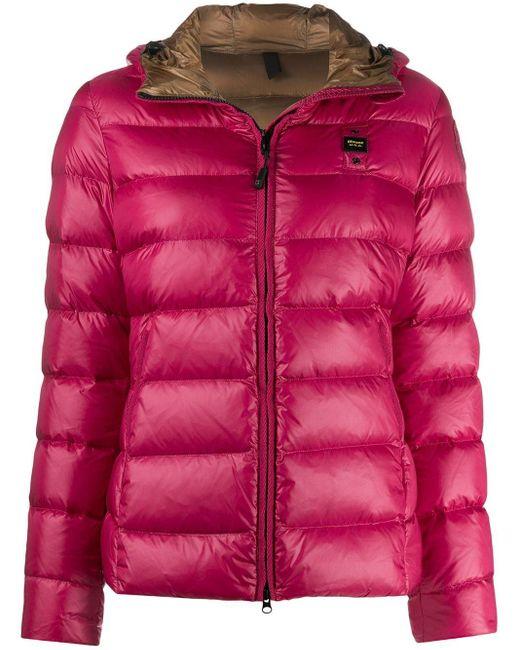 Blauer パデッドジャケット Pink
