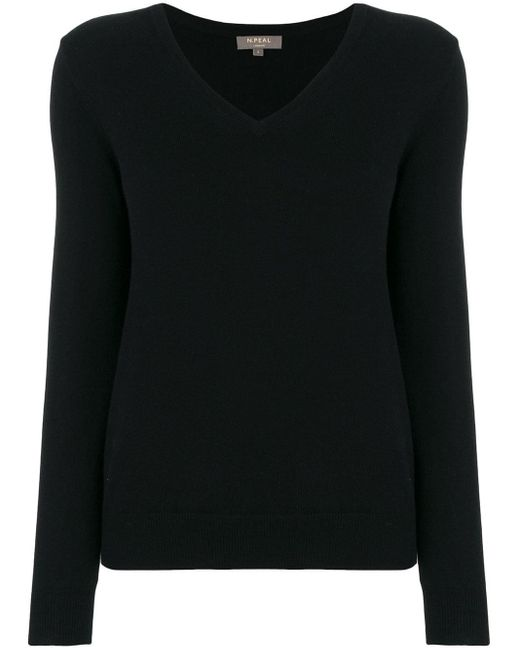 N.Peal Cashmere カシミア セーター Black