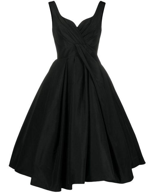 Alexander McQueen プリーツスカート ドレス Black