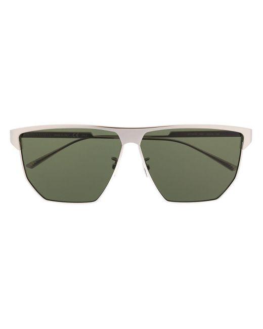 Солнцезащитные Очки В Геометричной Оправе Bottega Veneta, цвет: Metallic