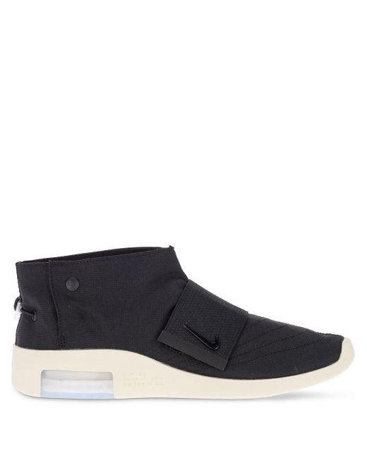 Zapatillas altas con cordones Nike de color Black