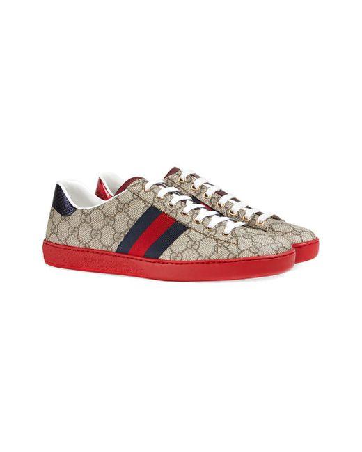 3dac636ea ... Gucci Multicolor Ace GG Supreme Sneaker for men ...