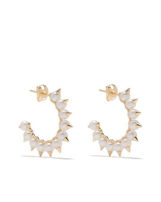 Tasaki Metallic 18kt Yellow Gold Danger Tribe Earrings