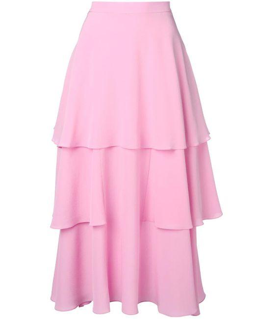 Stella McCartney フリル スカート Pink