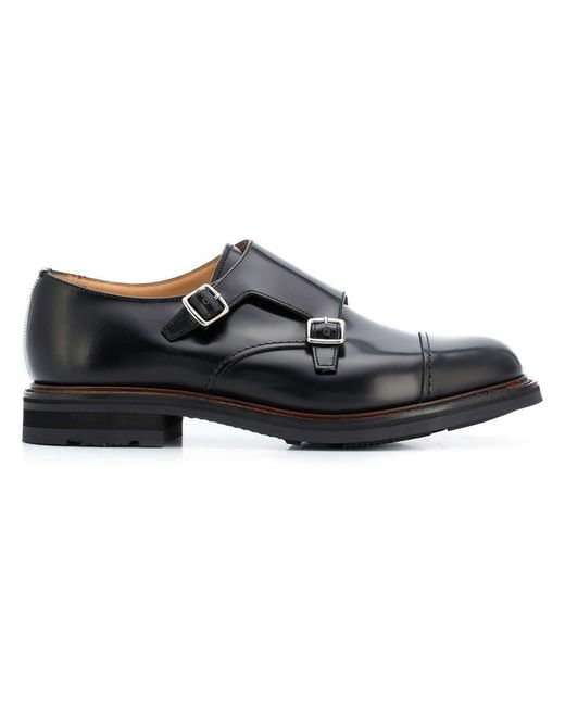 Church's - Black 'Wadebridge' Monk-Schuhe for Men - Lyst