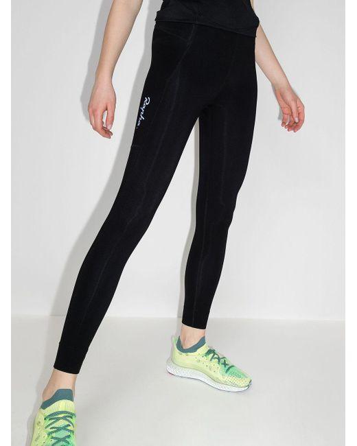 Rapha Black All-day Logo-print leggings