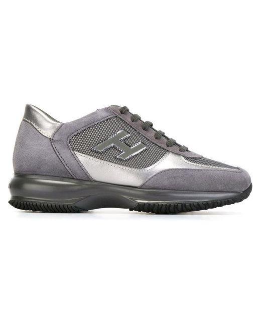Hogan - Gray 'interactive' Sneakers - Lyst