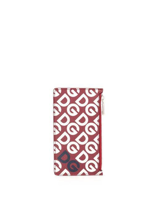 メンズ Dolce & Gabbana カードケース Red