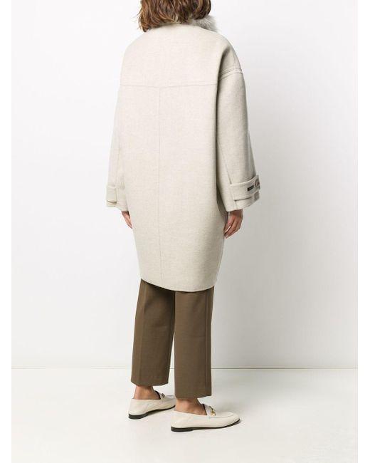 Manzoni 24 オーバーサイズ シングルコート Natural