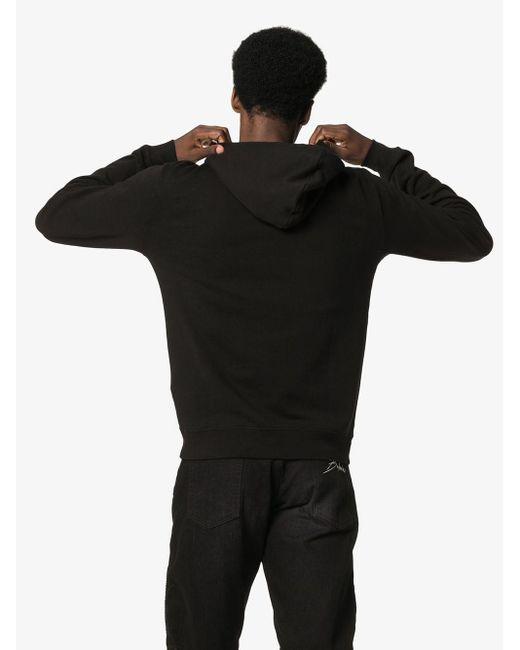 Худи С Логотипом Saint Laurent для него, цвет: Black
