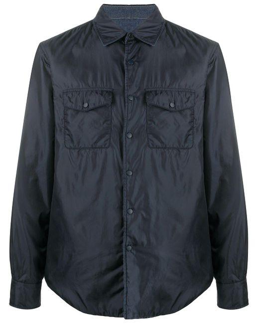 Куртка-рубашка С Длинными Рукавами Aspesi для него, цвет: Blue