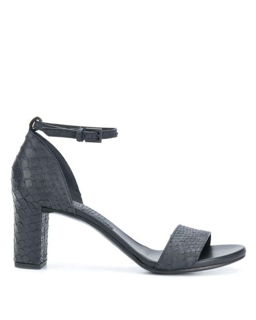 Roberto Del Carlo Black 10509 Sandals