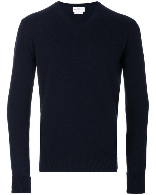 Ballantyne - Blue V-neck Jumper for Men - Lyst