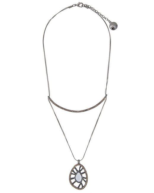 Camila Klein - Metallic Pendant Necklace - Lyst