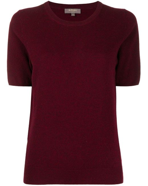 N.Peal Cashmere カシミア トップ Red