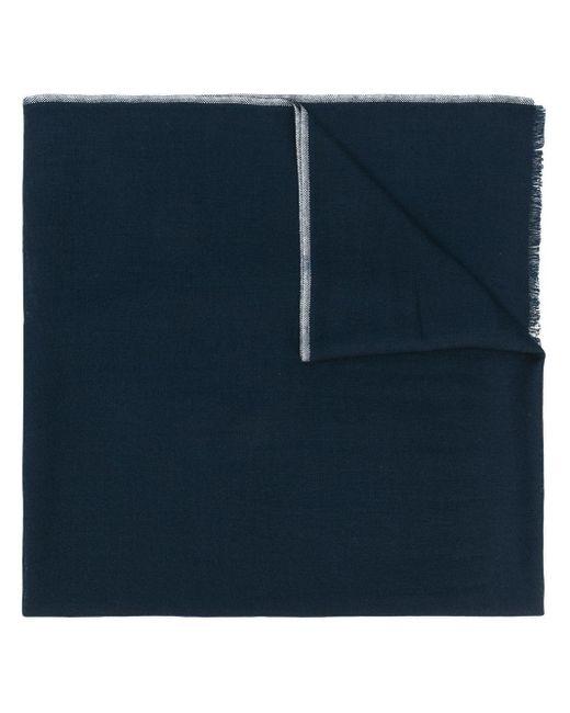 Etro フリンジスカーフ Blue