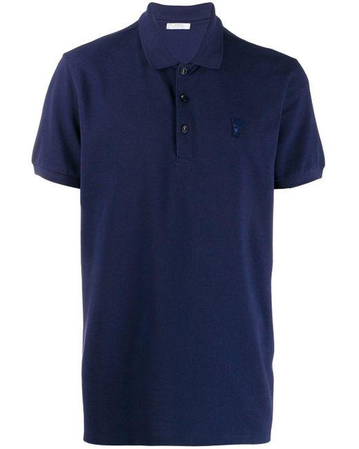 メンズ Versace ポロシャツ Blue