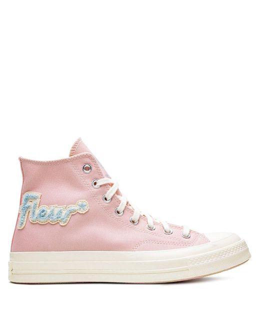 Кеды Chuck 70 Hi Converse, цвет: Pink