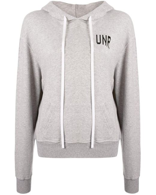 Unravel Project ロゴ パーカー Gray