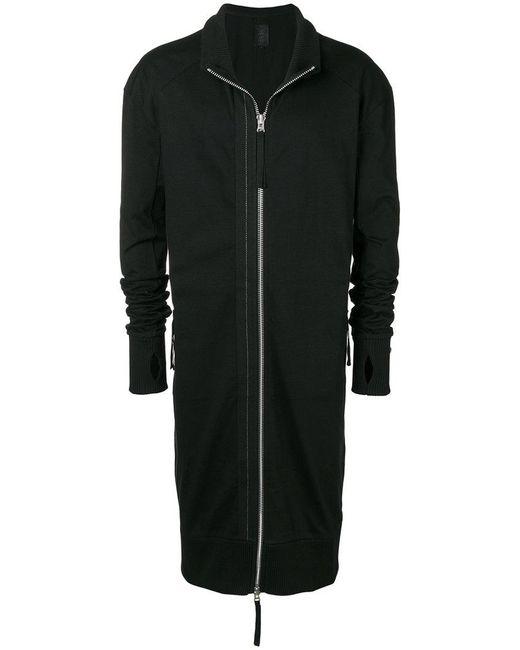 Thom Krom - Black Long Zipped Sweatshirt for Men - Lyst