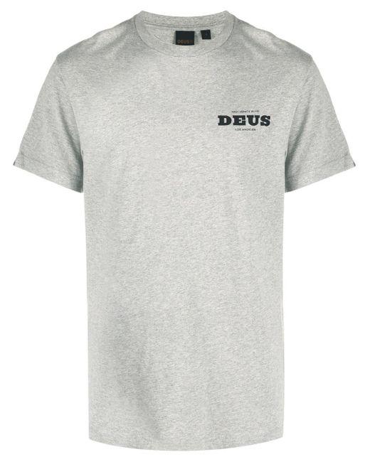 メンズ Deus Ex Machina ロゴ Tシャツ Gray