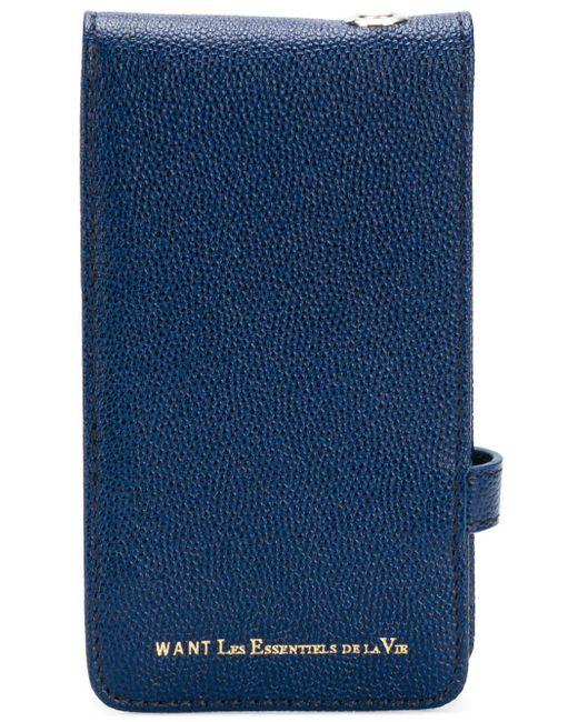 Чехол Для Телефона Want Les Essentiels De La Vie, цвет: Blue