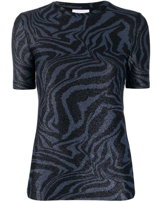 Ganni タイガープリント Tシャツ Black