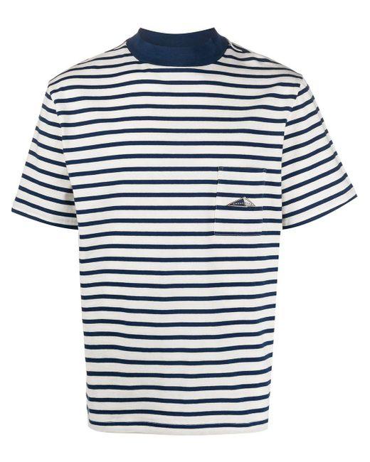 メンズ Anglozine パッチポケット Tシャツ Multicolor