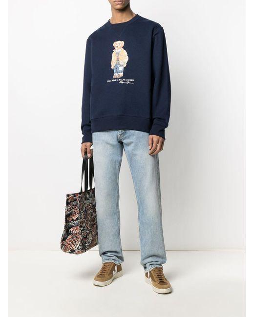 メンズ Polo Ralph Lauren Polo Bear スウェットシャツ Blue