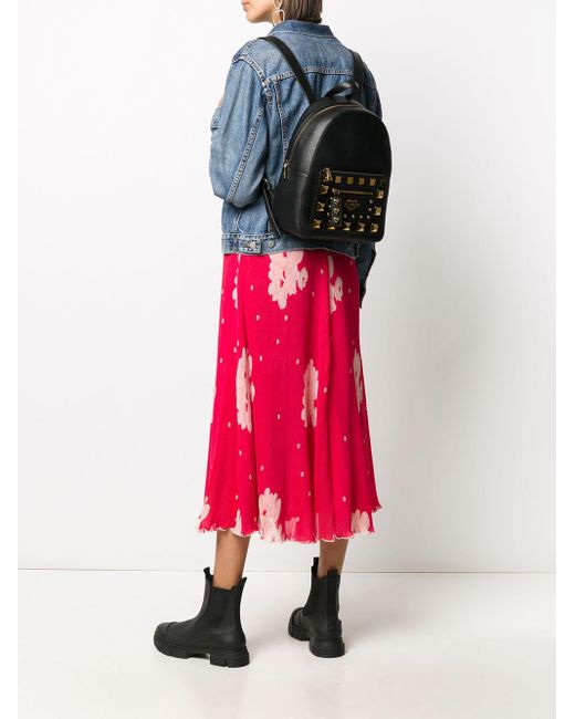 Рюкзак С Заклепками Love Moschino, цвет: Black