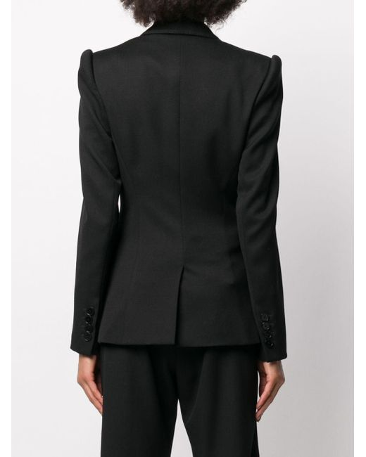 Stella McCartney デコラティブボタン ジャケット Black