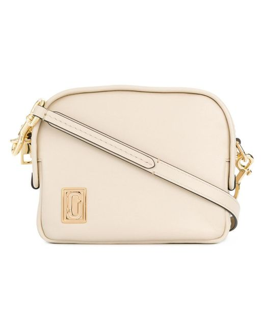 Marc Jacobs Mini Squeeze Cross Body Bag Natural