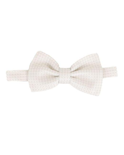 メンズ Dolce & Gabbana ジャカード 蝶ネクタイ White