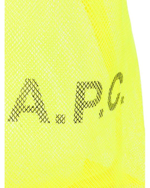 メンズ A.P.C. Rebound トートバッグ Yellow