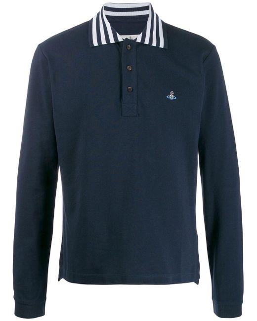 メンズ Vivienne Westwood ポロシャツ Blue