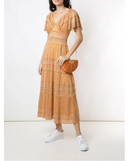 Соломенная Сумка Serpui, цвет: Orange