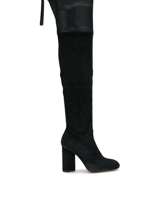 Сапоги 'helena 95' Stuart Weitzman, цвет: Black