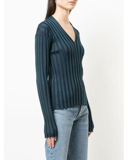 Proenza Schouler リブニット セーター Blue