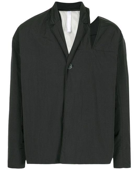 Cottweiler - Black Cut-out Shoulder Jacket for Men - Lyst