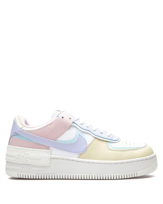 Nike White 'Air Force 1 Shadow' Sneakers