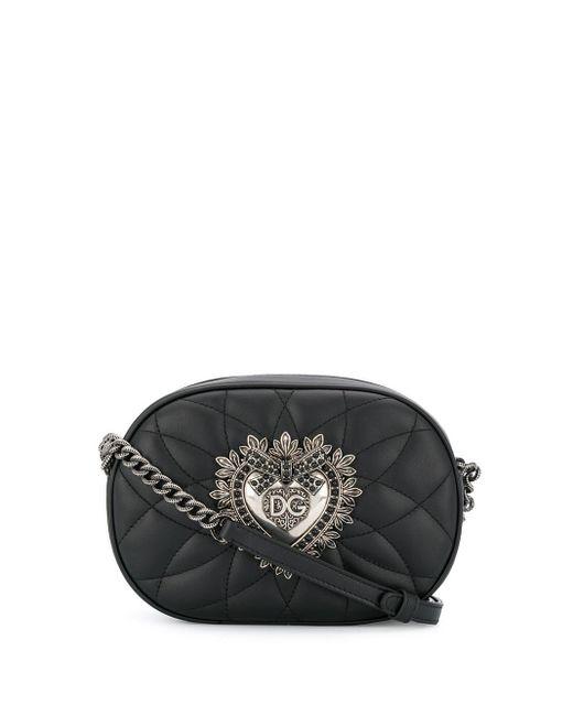 Dolce & Gabbana Devotion ショルダーバッグ Black