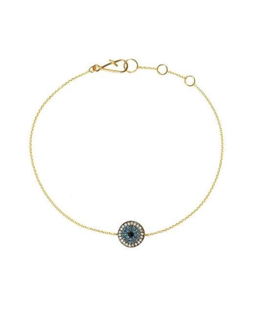 Annoushka Love Diamonds ダイヤモンド ブレスレット 18kイエローゴールド Metallic
