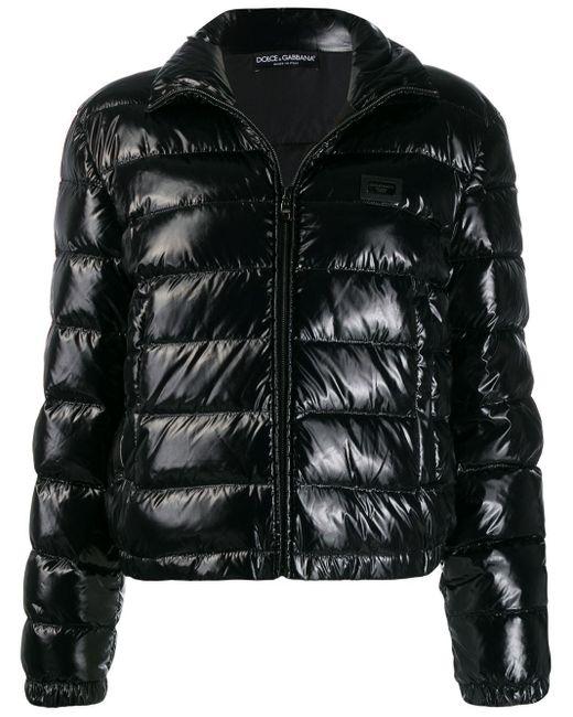 Dolce & Gabbana パデッドジャケット Black