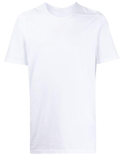 メンズ Rick Owens Drkshdw クルーネック Tシャツ White