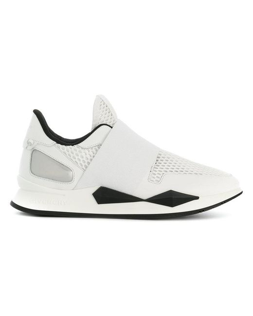 Givenchy - White Colour-block Sneakers for Men - Lyst