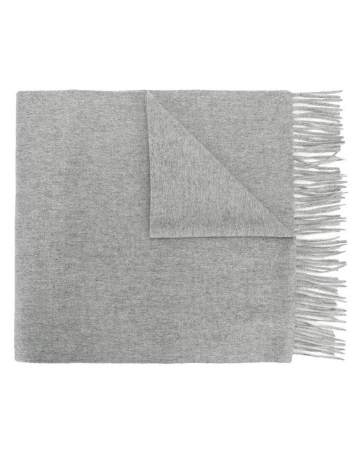 N.Peal Cashmere - Gray Large Woven Scarf for Men - Lyst
