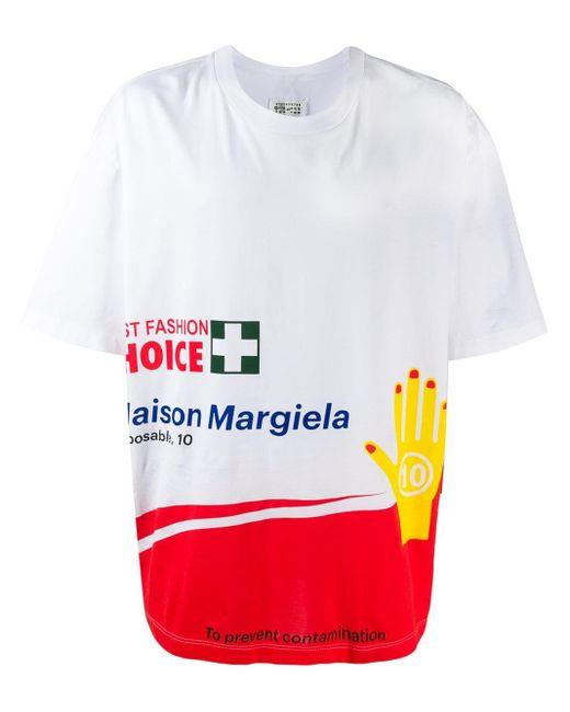 メンズ Maison Margiela Fashion Choice Tシャツ Multicolor