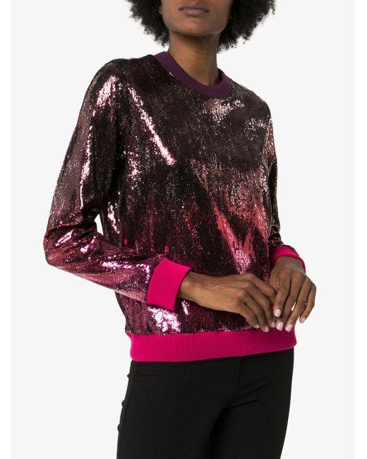 Mary Katrantzou スパンコール スウェットシャツ Multicolor
