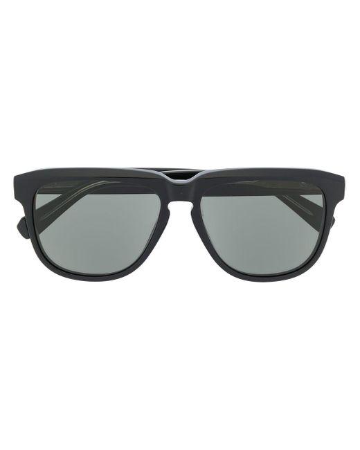 Brioni スクエア眼鏡フレーム Black